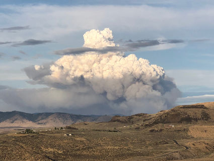 Wildfire on Colville Reservation